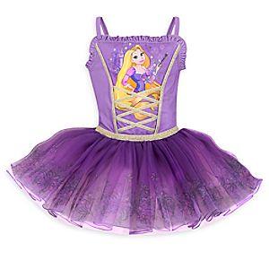 Rapunzel Deluxe Leotard for Girls