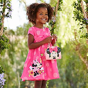 Minnie Mouse Clubhouse Party Dress for Girls
