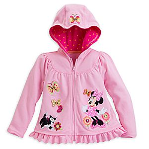 Minnie Mouse Clubhouse Hoodie for Girls