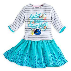 Dory Knit Dress for Girls - Finding Dory
