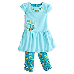 Elsa Dress Set for Girls