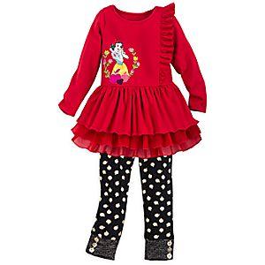 Snow White Dress Set for Girls