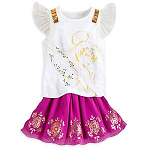 Tinker Bell Skirt Set for Girls