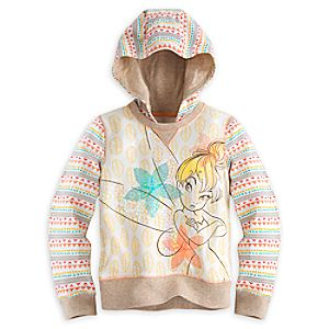 Tinker Bell Hooded Pullover for Girls