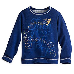Tinker Bell Fleece Top for Girls