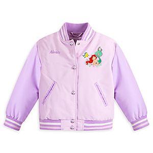 Ariel Varsity Jacket for Girls - Personalizable
