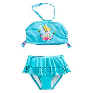 Tinker Bell Swimsuit for Girls - 2-Piece