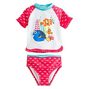 Finding Dory Rash Guard Swimsuit for Girls