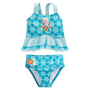 Elsa Deluxe Swimsuit for Girls