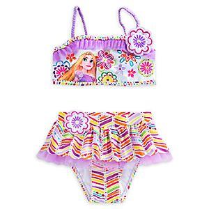 Rapunzel Deluxe Swimsuit for Girls - 2-Piece