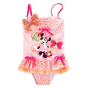Minnie Mouse Clubhouse Deluxe Swimsuit for Girls