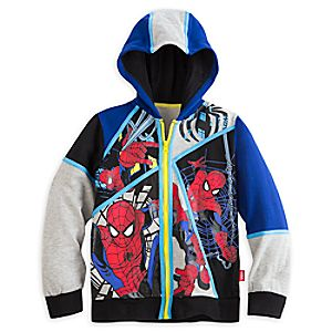 Spider-Man Fleece Hoodie for Boys