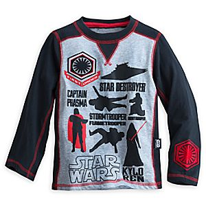 Star Wars: The Force Awakens Long Sleeve Tee for Boys