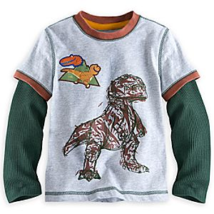 The Good Dinosaur Long Sleeve Tee for Kids