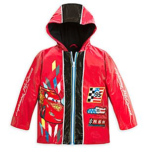 Cars Rain Jacket for Boys