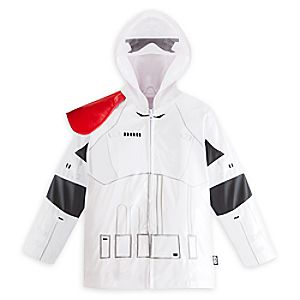 Stormtrooper Rain Jacket for Kids - Star Wars: The Force Awakens