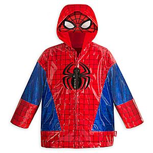 Spider-Man Rain Jacket for Boys