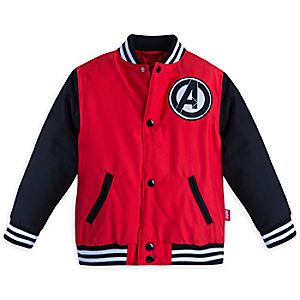Marvels Avengers Varsity Jacket for Boys - Personalizable