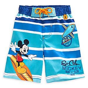 Mickey Mouse Clubhouse Swim Trunks for Boys