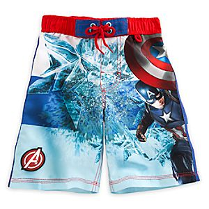 Captain America: Civil War Swim Trunks for Boys