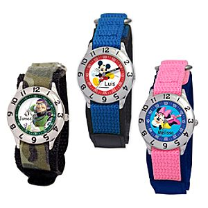 Create-Your-Own Time Teacher Watch