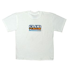 Club Penguin Logo Tee for Grown-Ups