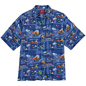 Cars 2 Hawaiian Shirt for Men by Reyn Spooner