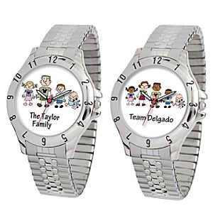 Create-Your-Own Disney Family Watch for Men