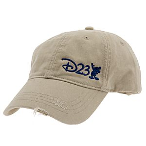 Distressed D23 Baseball Cap for Adults