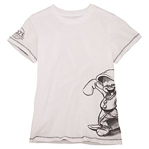 D23 Membership Exclusive Wrap Around Dopey Tee for Women
