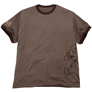 D23 Membership Exclusive Ringer Mickey Mouse Tee for Men