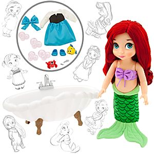 Disney Animators Collection Ariel Doll Deluxe Gift Set - 16