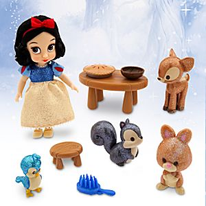 Disney Animators Collection Snow White Mini Doll Play Set - 5