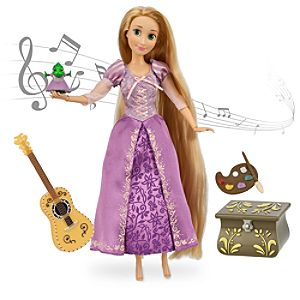 Rapunzel Deluxe Singing Doll Set - 11''