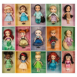 Disney Animators Collection Mini Doll Gift Set - 5