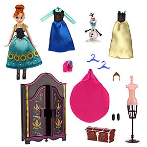 Anna Wardrobe Doll Play Set