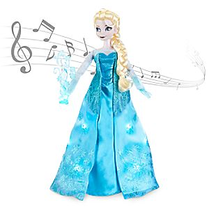 Elsa Deluxe Feature Singing Doll - 16 H