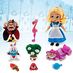 Disney Animators' Collection Alice Mini Doll Play Set - 5''
