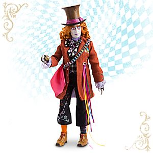 Mad Hatter Disney Film Collection Doll - Alice Through the Looking Glass - 13 1/2