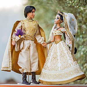 Aladdin and Jasmine Limited Edition Doll Set - 17