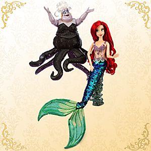 Ariel and Ursula Doll Set - Disney Fairytale Designer Collection