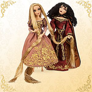 Rapunzel and Mother Gothel Doll Set - Disney Fairytale Designer Collection