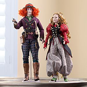 Alice and Mad Hatter Limited Edition Doll Set - Alice Through the Looking Glass - 17