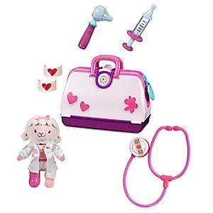 Doc McStuffins Toy Hospital Play Set with Lambie Plush