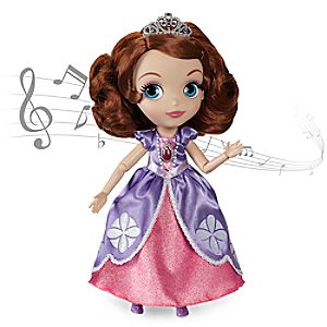 Sofia the First Talking and Singing Doll - 11''