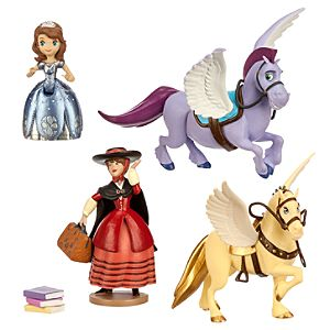 Sofia the First Secret Library Book Playset