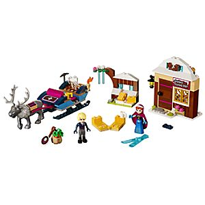 Anna &	Kristoffs Sleigh Adventure Playset by LEGO - Frozen