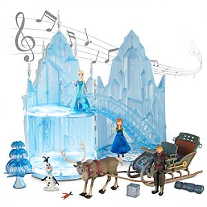 Elsa Musical Ice Castle Play Set