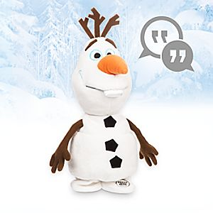 Disney Animators Collection Interactive Olaf Plush - 10