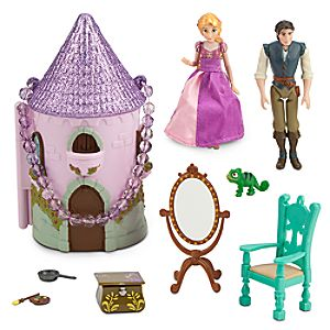 Rapunzel Mini Castle Play Set